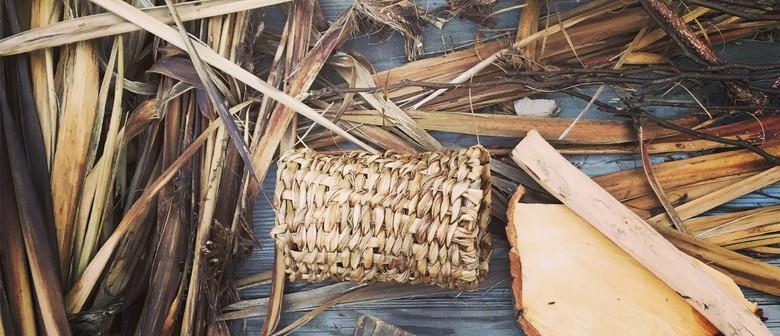 Rekindle Workshop: Basket-Weaving With Tī Kōuka/Cabbage Tree