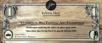 Currency - Wai Taonga: Art Exhibit
