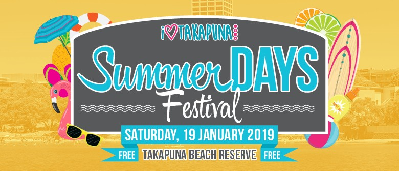 I Love Takapuna Summer Days Festival