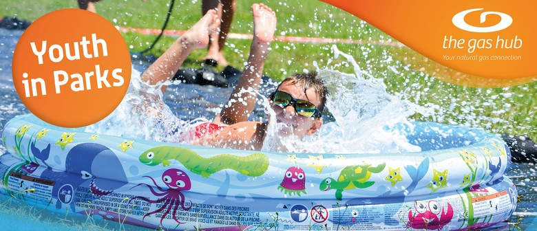 Youth In Parks - Water Slides and Water Fight