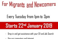 Image for event: Job Club for Migrants and Newcomers