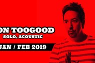Image for event: Jon Toogood - Solo, Acoustic