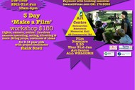 Image for event: 3 Day Film Making Workshop for 8-16 Year Olds