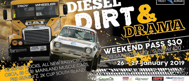 Diesel Dirt & Drama - NZ Super Trucks & More