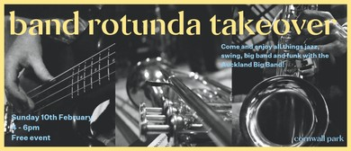 Band Rotunda Takeover – Auckland Big Band