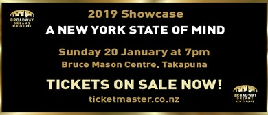 Broadway Dreams 2019 Showcase – A New York State of Mind
