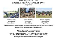Image for event: Ohingaiti & Hunterville Districts Sports Day
