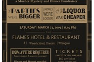 Image for event: Prohibition Party - A Murder Mystery and Dinner Fundraiser