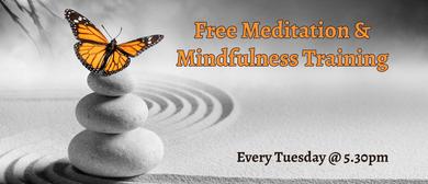Meditation & Mindfulness Training