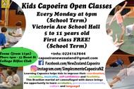 Image for event: Kids Capoeira Classes Term 1