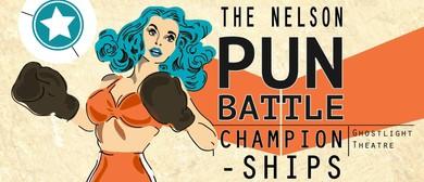 The Nelson Pun Battle Championships