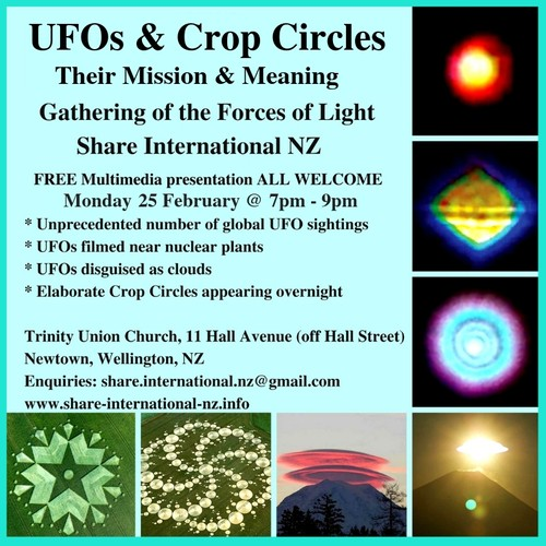 UFOs & Crop Circles: Their Mission and Meaning - Wellington - Eventfinda