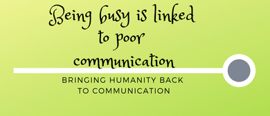 Bringing Humanity Back To Communication