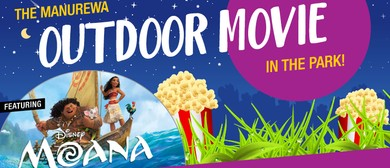 Manurewa Outdoor Movie In the Park Featuring Moana