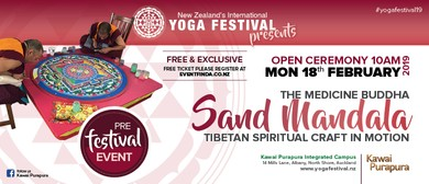 The Medicine Buddha Sand Mandala