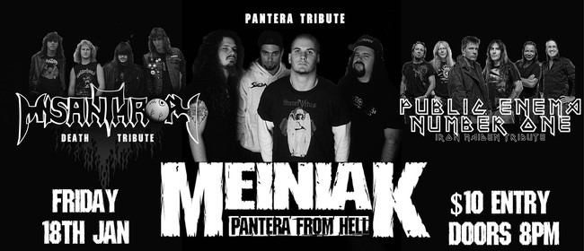 Pantera, Death and Iron Maiden Tribute