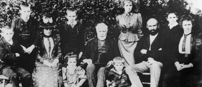 Gov. Grey and The Thorne George Family with David Verran