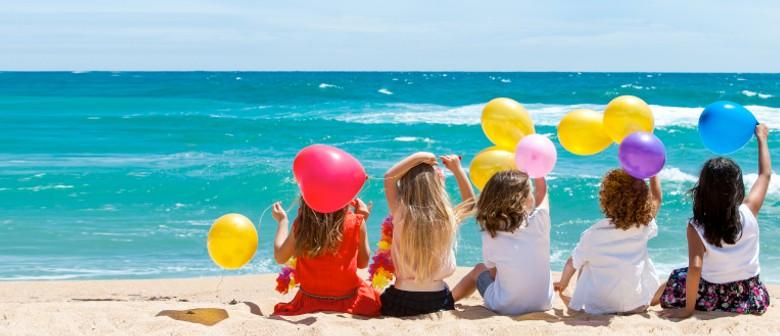 Pop-up Beach Story-time