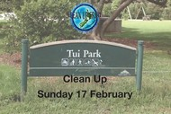 Image for event: Tui Park Clean Up
