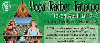 Yoga Teacher Training 200 Hr