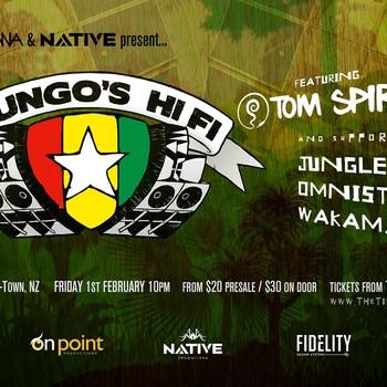 Mungos Hifi - Featuring Tom Spirals (Wakamana + Native)
