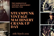 Image for event: Vintage Machinery Steampunk Crank Up Day