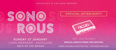 Sonorous Official Afterparty