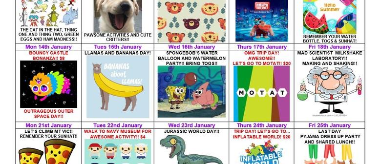 January 2019 School Holiday Programme