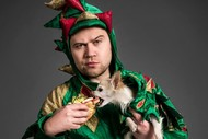 Image for event: Piff The Magic Dragon: Bread & Circus, Buskers Festival