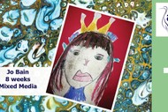 Image for event: Mixed Media Madness with Jo Bain