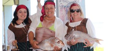 Nauti Girls Fishing Competition