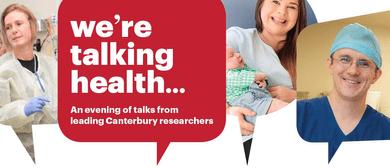 We're Talking Health - Public Talks