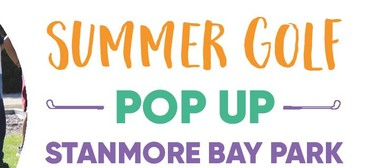 Summer Golf Pop Up