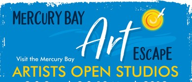 Mercury Bay Art Escape Artists' Open Studios 2019