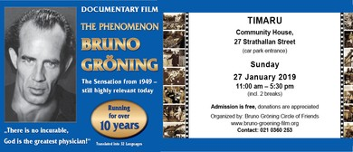 Documentary Film The Phenomenon Bruno Groening