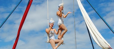 The Silver Starlets Aerial Show
