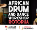 African Drum and Dance Full Day Workshop - Rotorua