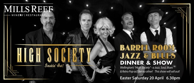 """High Society"" Barrel Room Jazz & Blues"