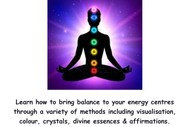 New Lunchtime Course - Journey Through the Chakras 9 Weeks