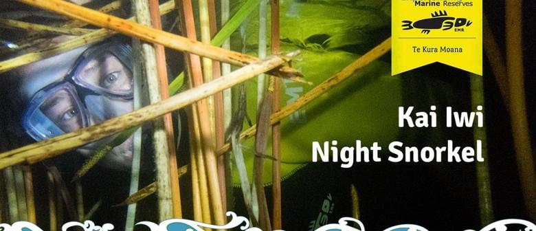 Seaweek - EMR Kai Iwi Twilight and Night Snorkel