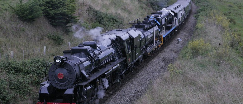 Steam Train Return Trip to Whanganui for Vintage Weekend