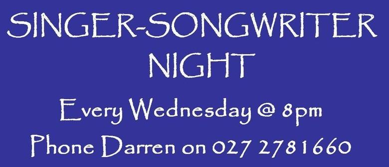 Singer Song Writer Night