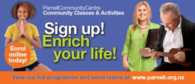 Film Group - Parnell Community Centre