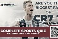 Image for event: Quiz Quest: Cristiano Ronaldo Quiz Quest