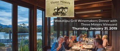Three Miners Vineyard Winemakers Dinner