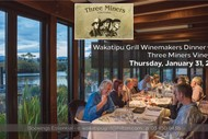 Image for event: Three Miners Vineyard Winemakers Dinner
