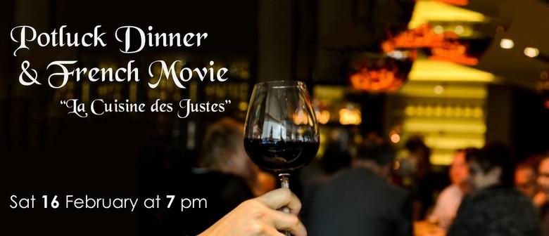 Potluck Dinner & French Movie