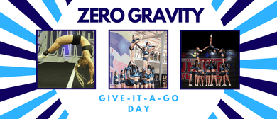 11+yrs Give It a Go Day - Zero Gravity Cheerleading