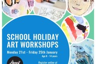 School Holiday Programme - Children's Fine Art Workshops
