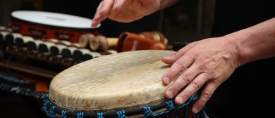 West African Drumming with Maganui Stewart